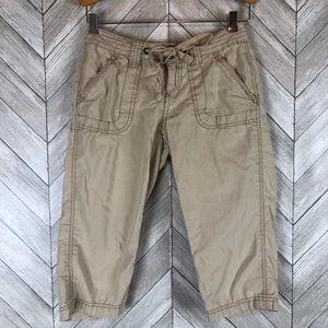 Aeropostale Capri Khaki Pants Size 0